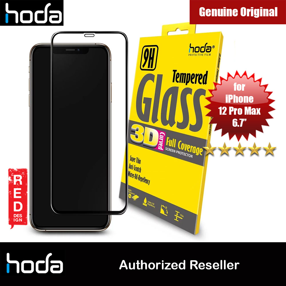Picture of Hoda 0.33mm Full Coverage Tempered Glass Screen Protector for Apple iPhone 12 Pro Max 6.7 Apple iPhone 12 6.1- Apple iPhone 12 6.1 Cases, Apple iPhone 12 6.1 Covers, iPad Cases and a wide selection of Apple iPhone 12 6.1 Accessories in Malaysia, Sabah, Sarawak and Singapore