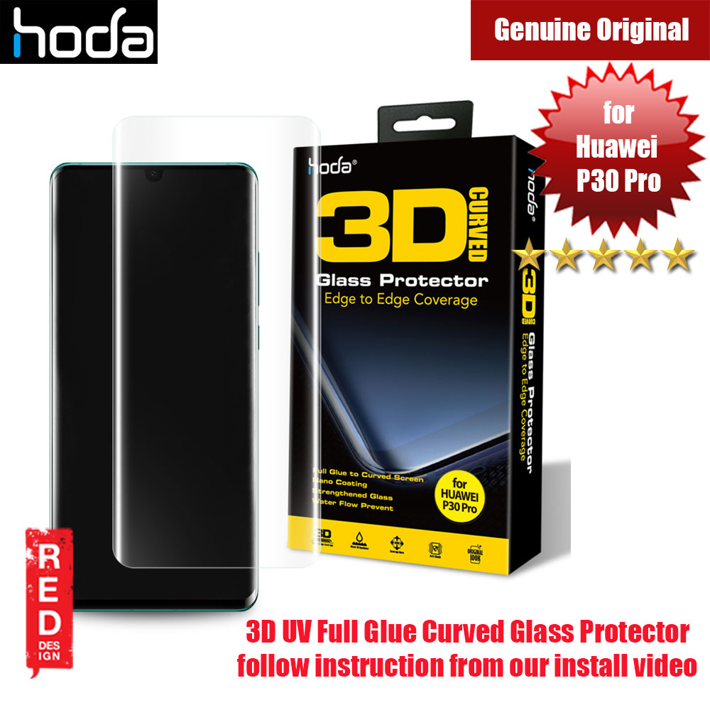 Picture of Hoda 3D Curve Full Glue Full Coverage Tempered Glass for Huawei P30 Pro (Full Glue) Huawei P30 Pro- Huawei P30 Pro Cases, Huawei P30 Pro Covers, iPad Cases and a wide selection of Huawei P30 Pro Accessories in Malaysia, Sabah, Sarawak and Singapore
