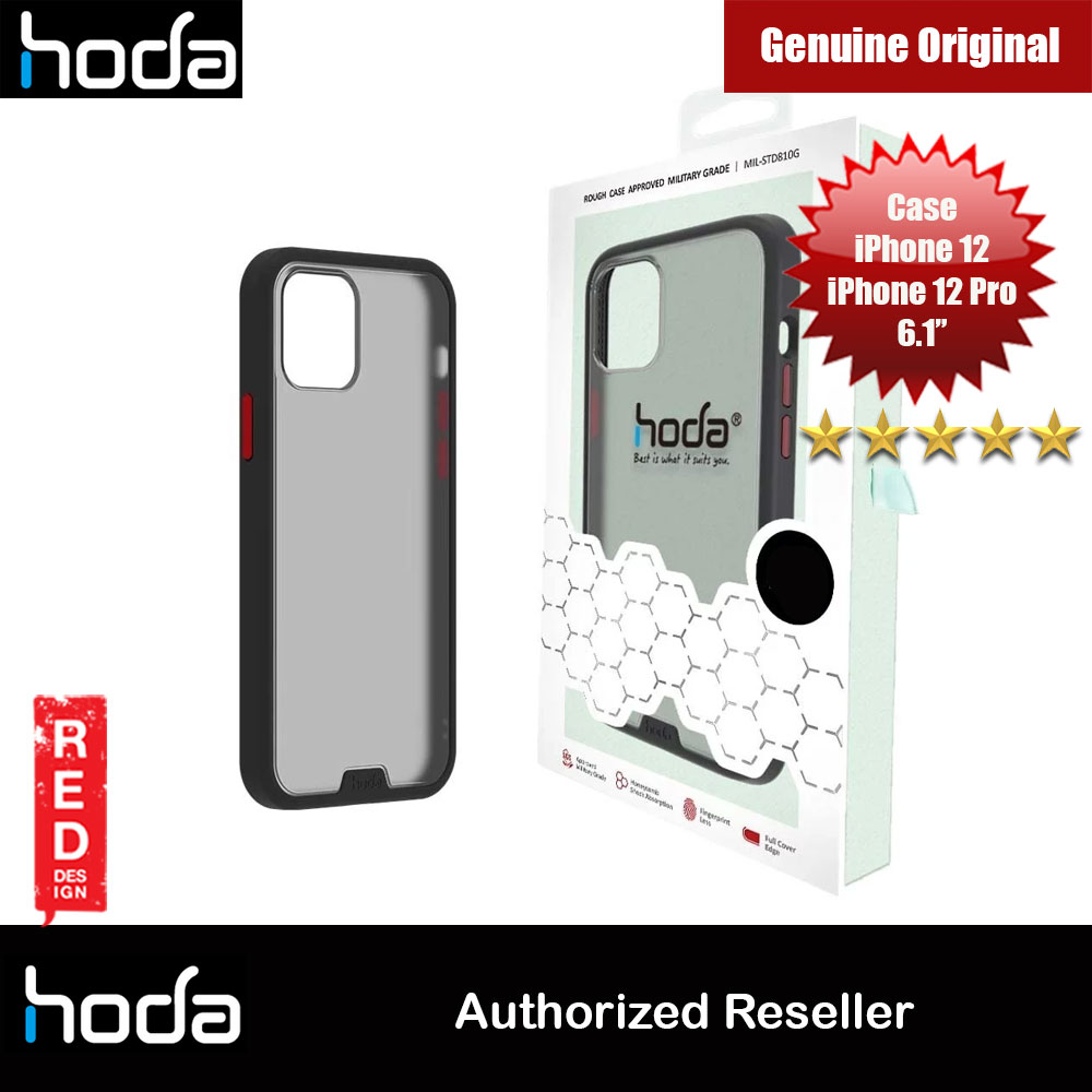 Picture of Hoda Military Standard Rough Case for Apple iPhone 12 iPhone 12 Pro 6.1 (Black) Apple iPhone 12 6.1- Apple iPhone 12 6.1 Cases, Apple iPhone 12 6.1 Covers, iPad Cases and a wide selection of Apple iPhone 12 6.1 Accessories in Malaysia, Sabah, Sarawak and Singapore