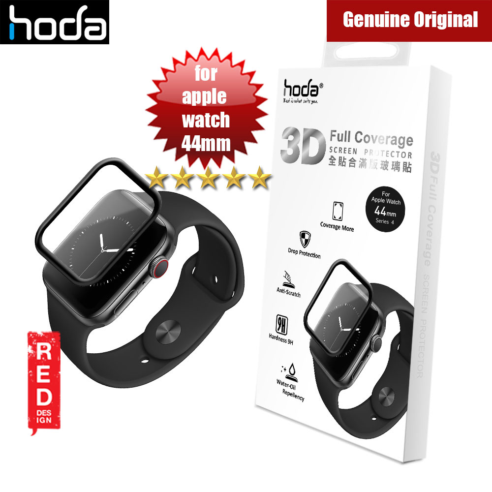 Picture of Hoda 3D Full Coverage Tempered Glass Screen Protector for Apple Watch 44mm (Black) Apple Watch 44mm- Apple Watch 44mm Cases, Apple Watch 44mm Covers, iPad Cases and a wide selection of Apple Watch 44mm Accessories in Malaysia, Sabah, Sarawak and Singapore