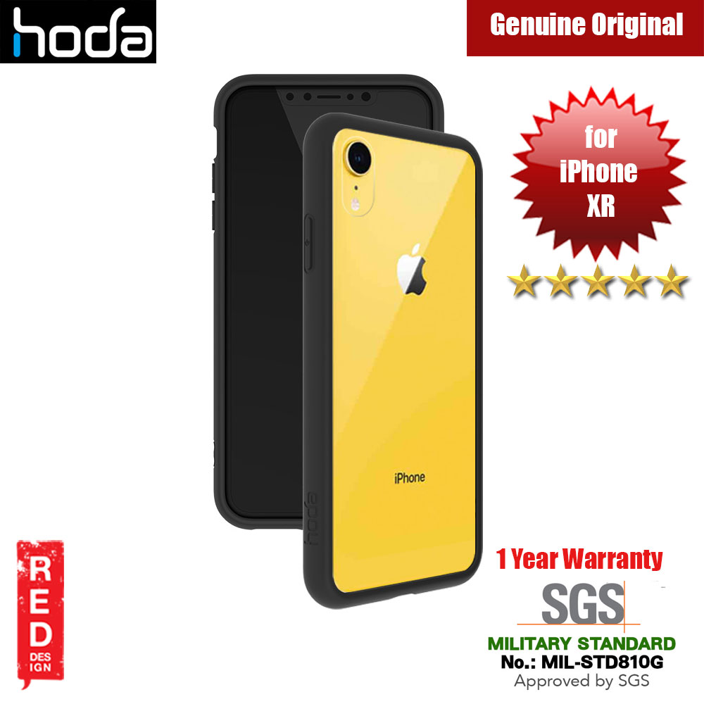 Picture of Hoda Crystal Case Military Standard Drop Proof Case for Apple iPhone XR (Black) Apple iPhone XR- Apple iPhone XR Cases, Apple iPhone XR Covers, iPad Cases and a wide selection of Apple iPhone XR Accessories in Malaysia, Sabah, Sarawak and Singapore