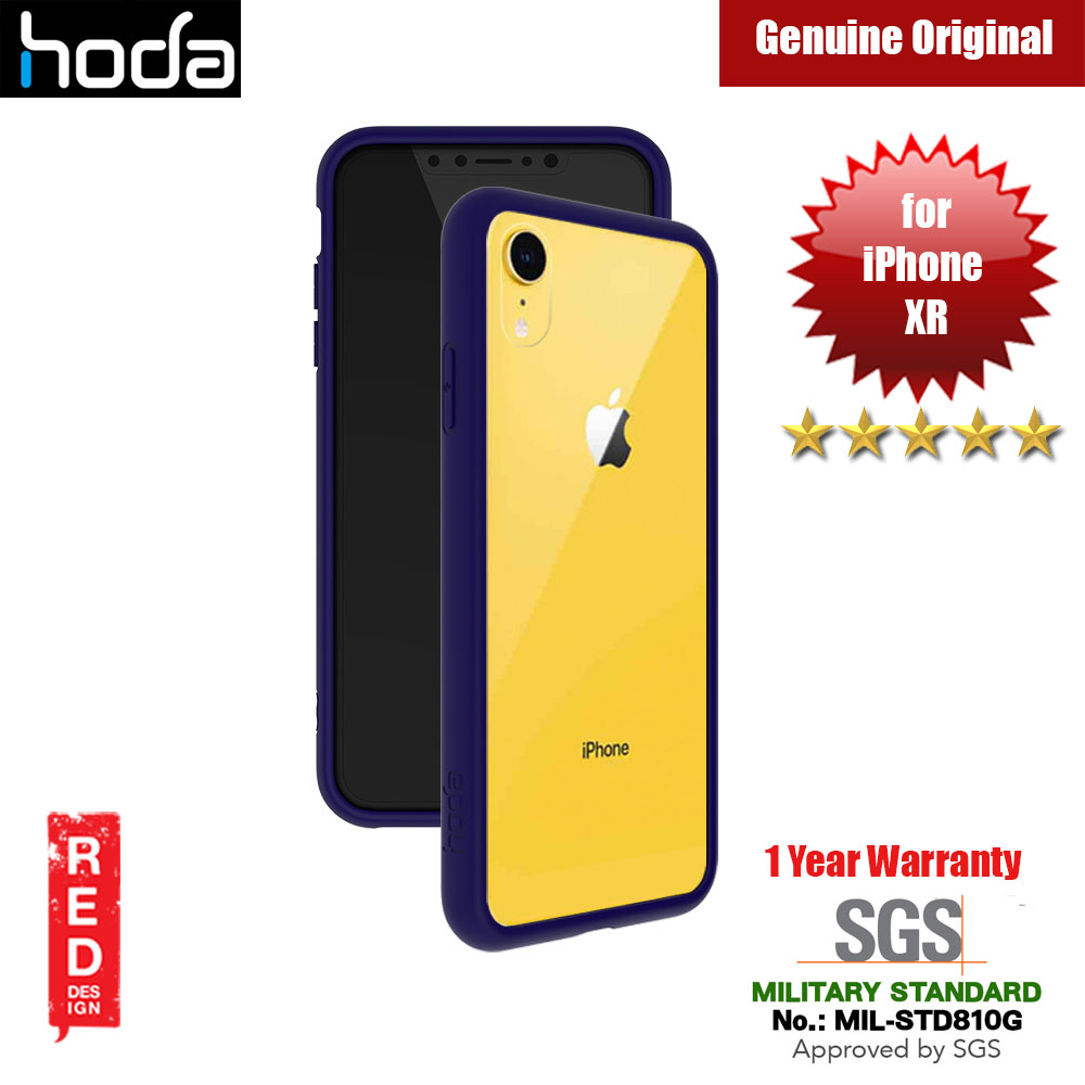 Picture of Hoda Crystal Case Military Standard Drop Proof Case for Apple iPhone XR (Dark Blue) Apple iPhone XR- Apple iPhone XR Cases, Apple iPhone XR Covers, iPad Cases and a wide selection of Apple iPhone XR Accessories in Malaysia, Sabah, Sarawak and Singapore