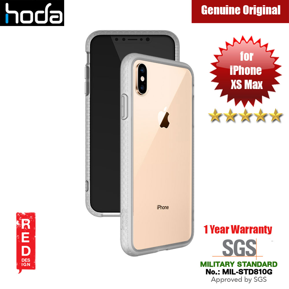 Picture of Hoda Crystal Case Military Standard Drop Proof Case for Apple iPhone XS Max (Matte) Apple iPhone XS Max- Apple iPhone XS Max Cases, Apple iPhone XS Max Covers, iPad Cases and a wide selection of Apple iPhone XS Max Accessories in Malaysia, Sabah, Sarawak and Singapore