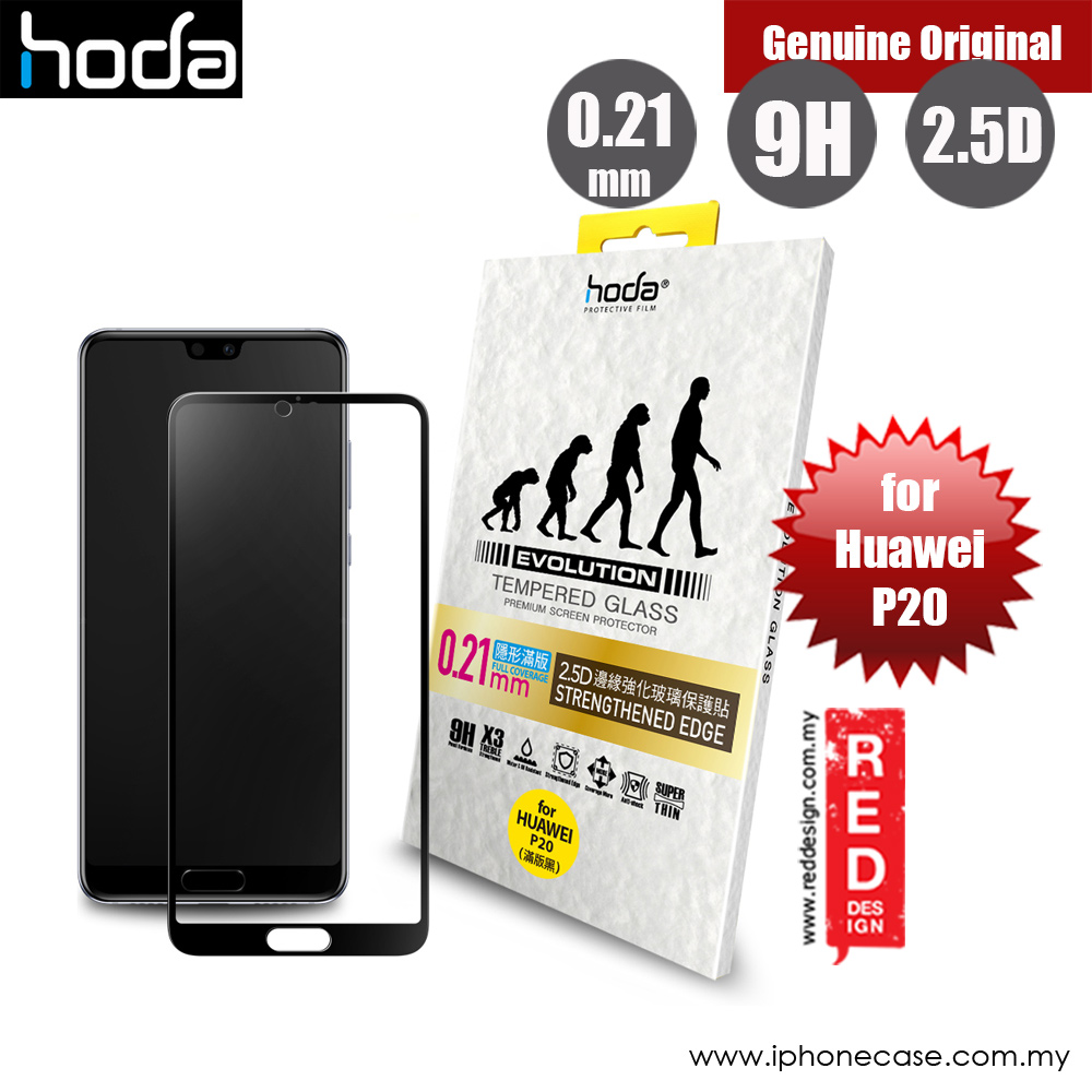 Picture of Hoda Evolution Premium Clear 9H Tempered Glass for Huawei P20 (0.21 mm Strengthen Edge Black) Huawei P20- Huawei P20 Cases, Huawei P20 Covers, iPad Cases and a wide selection of Huawei P20 Accessories in Malaysia, Sabah, Sarawak and Singapore