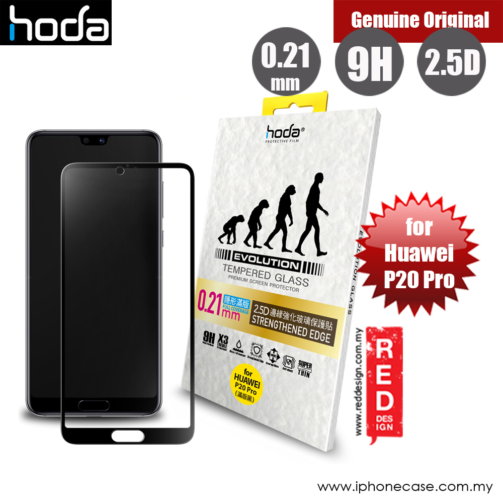 Picture of Hoda Evolution Premium Clear 9H Tempered Glass for Huawei P20 Pro(0.21 mm Strengthen Edge Black) Huawei P20 Pro- Huawei P20 Pro Cases, Huawei P20 Pro Covers, iPad Cases and a wide selection of Huawei P20 Pro Accessories in Malaysia, Sabah, Sarawak and Singapore