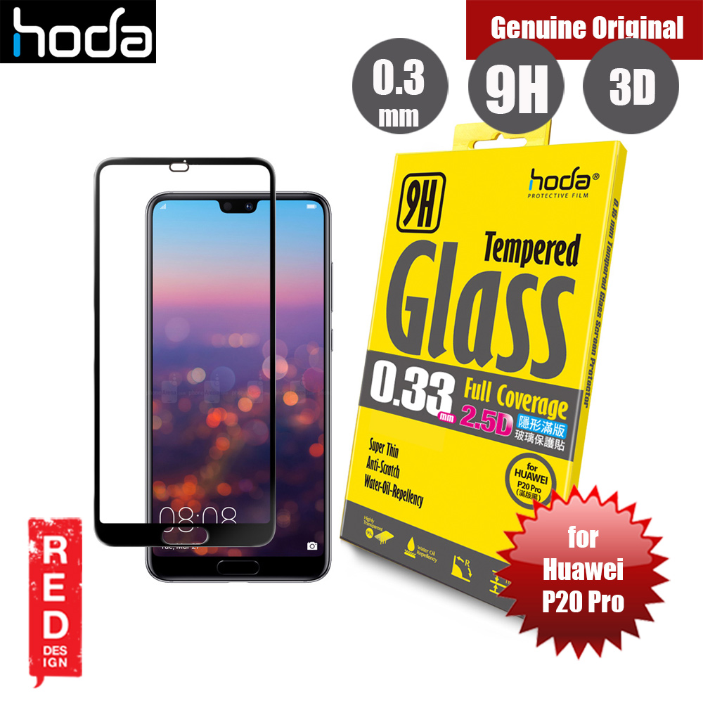 Picture of Hoda 0.33mm Full Coverage Tempered Glass Screen Protector for Huawei P20 Pro (Black) Huawei P20 Pro- Huawei P20 Pro Cases, Huawei P20 Pro Covers, iPad Cases and a wide selection of Huawei P20 Pro Accessories in Malaysia, Sabah, Sarawak and Singapore