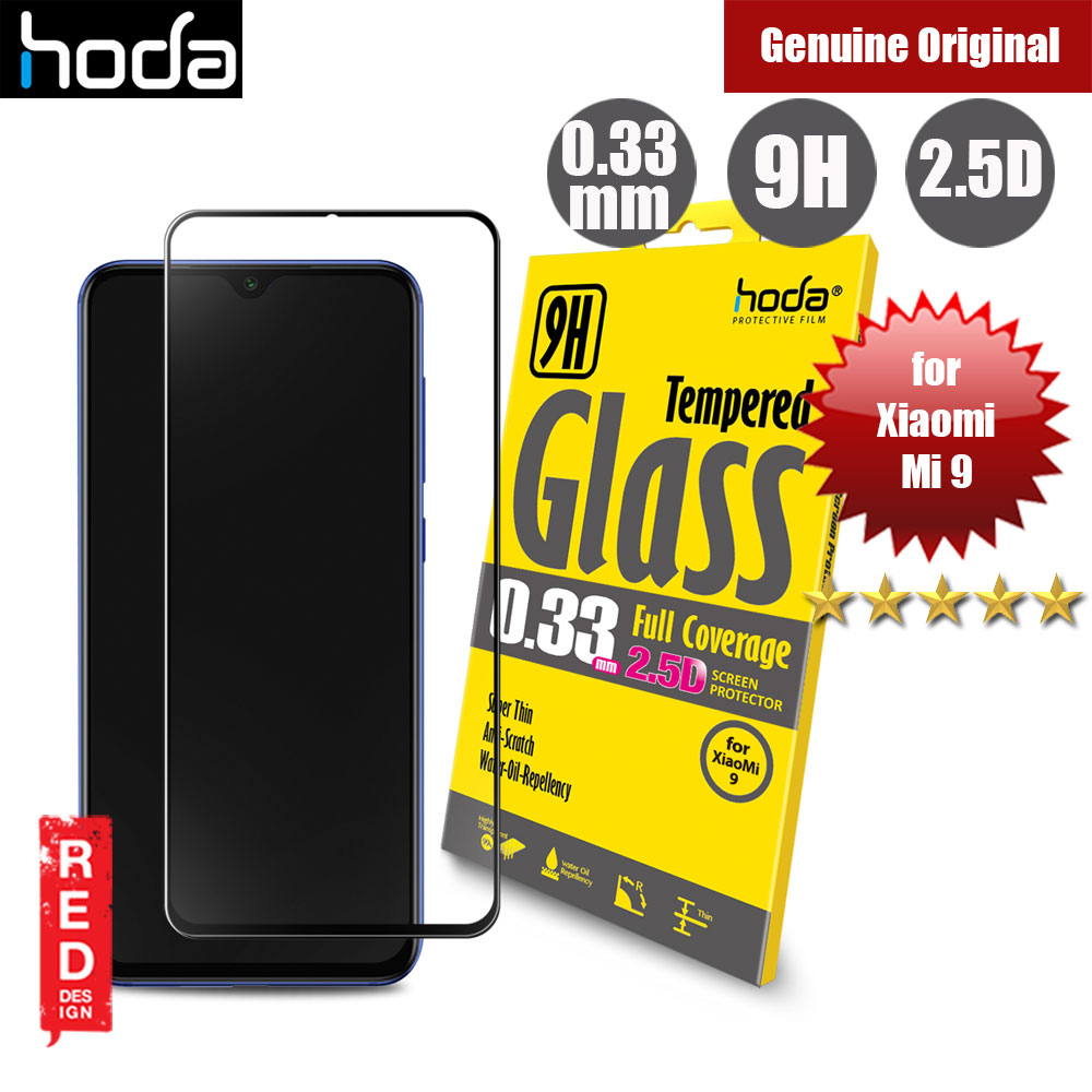 Picture of Hoda 0.33mm Full Coverage Tempered Glass Screen Protector for Xiaomi Mi9 Mi 9 (Black) Xiaomi Mi 9- Xiaomi Mi 9 Cases, Xiaomi Mi 9 Covers, iPad Cases and a wide selection of Xiaomi Mi 9 Accessories in Malaysia, Sabah, Sarawak and Singapore