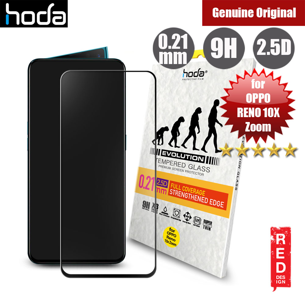 Picture of Hoda 0.21mm Strengthened Edges Full Coverage Tempered Glass Protector for OPPO Reno 10X Zoom (Black) Oppo Reno 10X Zoom- Oppo Reno 10X Zoom Cases, Oppo Reno 10X Zoom Covers, iPad Cases and a wide selection of Oppo Reno 10X Zoom Accessories in Malaysia, Sabah, Sarawak and Singapore