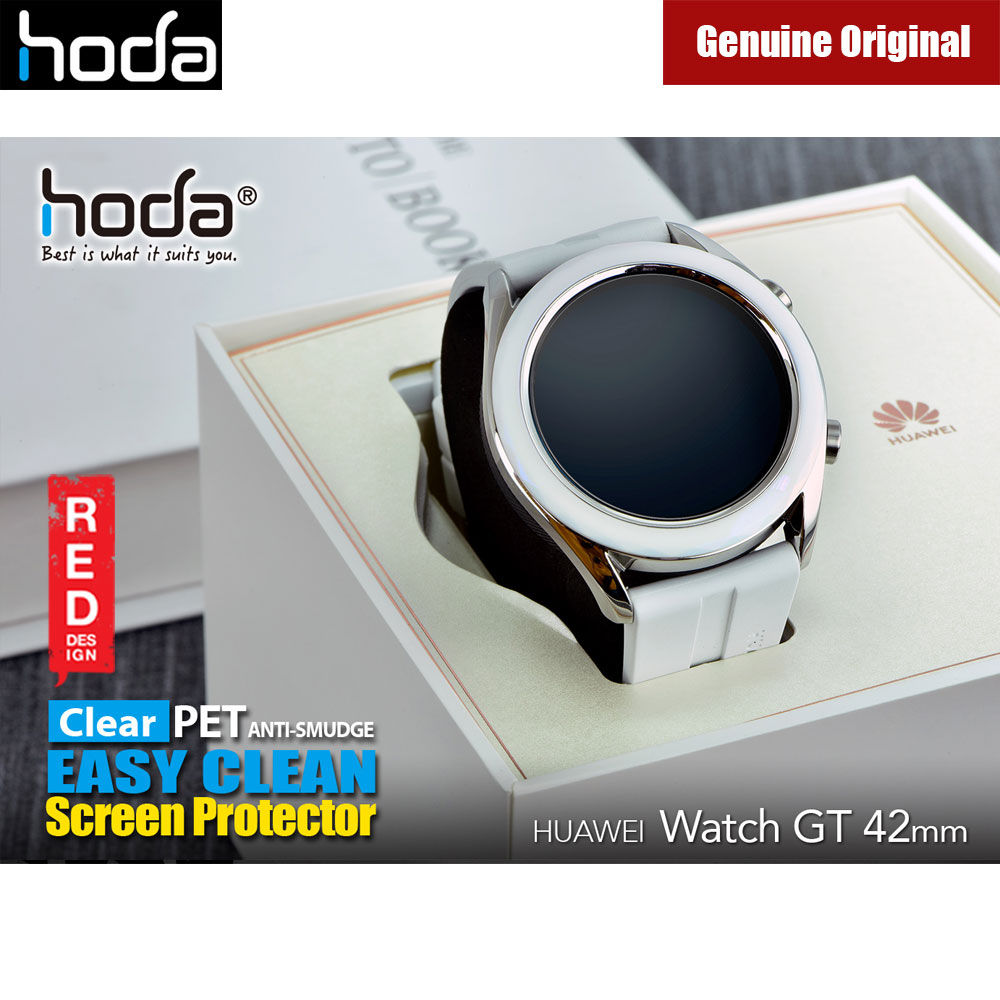 Picture of HUAWEI Watch GT 42mm Screen Protector | Hoda Anti-Smudge Clear Screen Protector (PET) for HUAWEI Watch GT 42mm 2pcs