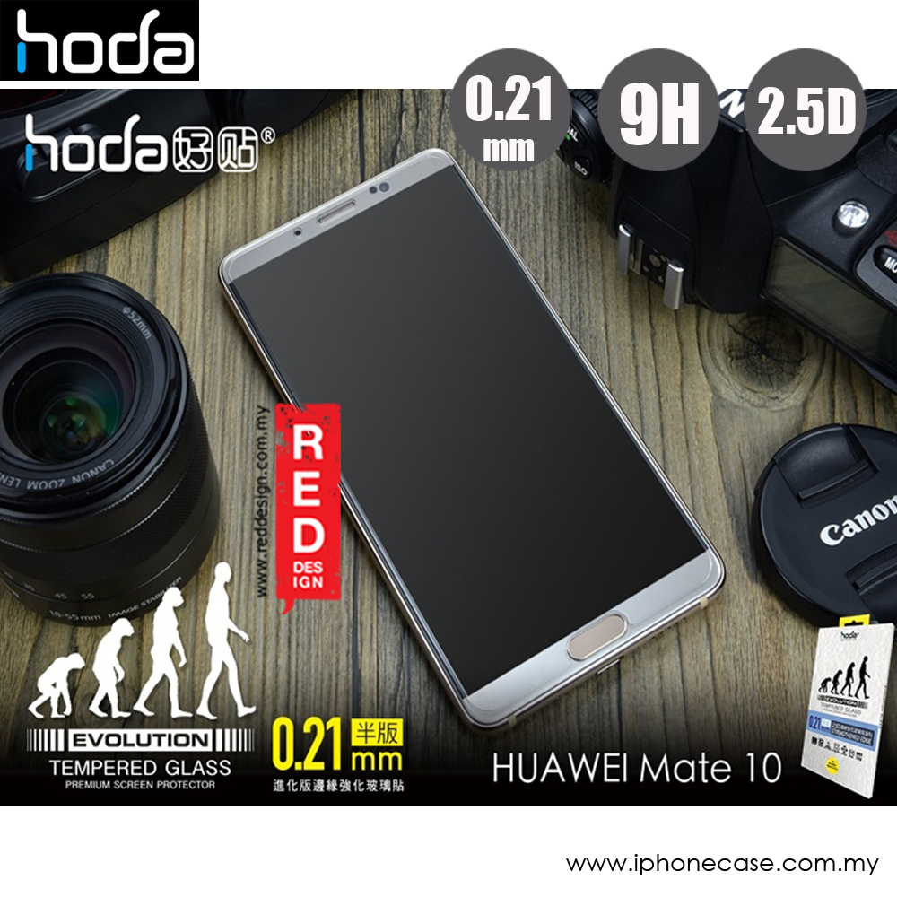 Picture of Huawei Mate 10  | Hoda Evolution Premium Clear 9H Tempered Glass for Huawei Mate 10 (0.21 mm Clear)