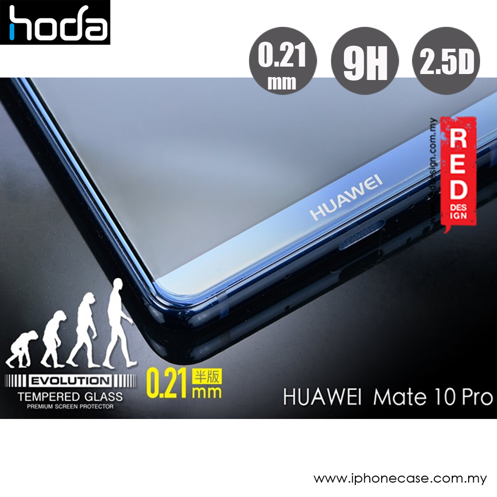 Picture of Huawei Mate 10 Pro  | Hoda Evolution Premium Clear 9H Tempered Glass for Huawei Mate 10 Pro (0.21 mm Clear)
