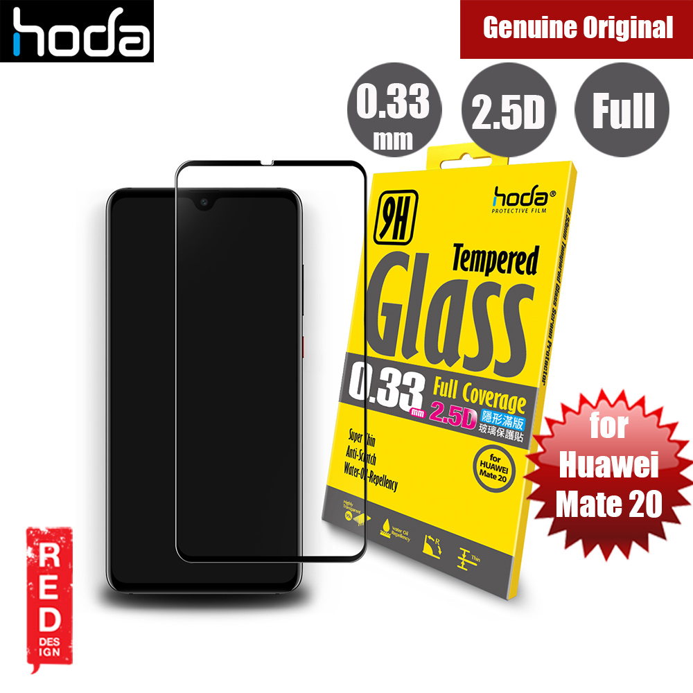 Picture of Hoda 0.33mm Full Coverage Tempered Glass Screen Protector for Mate 20 (Black) Huawei Mate 20- Huawei Mate 20 Cases, Huawei Mate 20 Covers, iPad Cases and a wide selection of Huawei Mate 20 Accessories in Malaysia, Sabah, Sarawak and Singapore