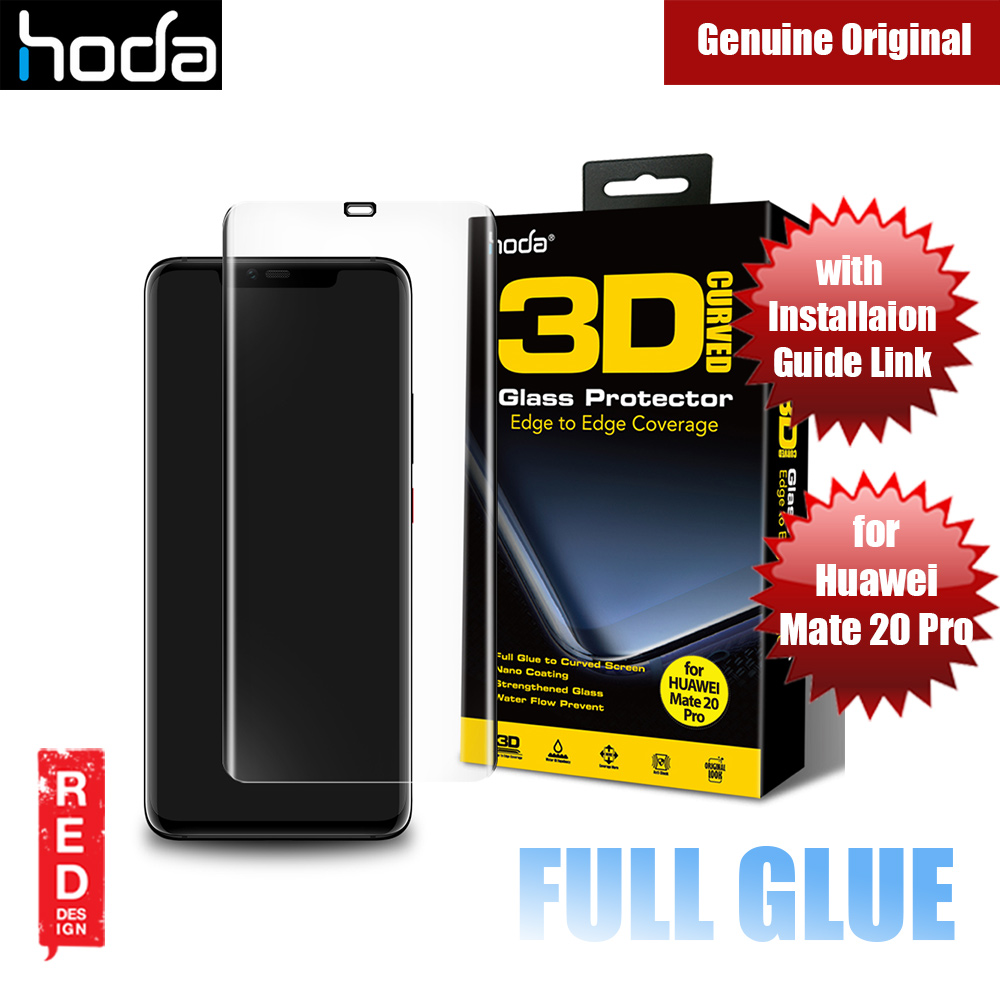 Picture of Hoda 3D Curve Full Glue Full Coverage Tempered Glass for Huawei Mate 20 Pro (Full Glue) Huawei Mate 20 Pro- Huawei Mate 20 Pro Cases, Huawei Mate 20 Pro Covers, iPad Cases and a wide selection of Huawei Mate 20 Pro Accessories in Malaysia, Sabah, Sarawak and Singapore