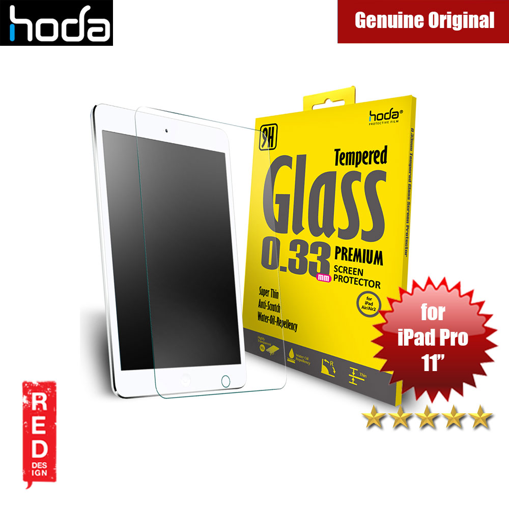 Picture of Hoda 0.33mm Premium Tempered Glass Screen Protector for Apple iPad Pro 11.0 2018 Apple iPad Pro 11.0 2018- Apple iPad Pro 11.0 2018 Cases, Apple iPad Pro 11.0 2018 Covers, iPad Cases and a wide selection of Apple iPad Pro 11.0 2018 Accessories in Malaysia, Sabah, Sarawak and Singapore