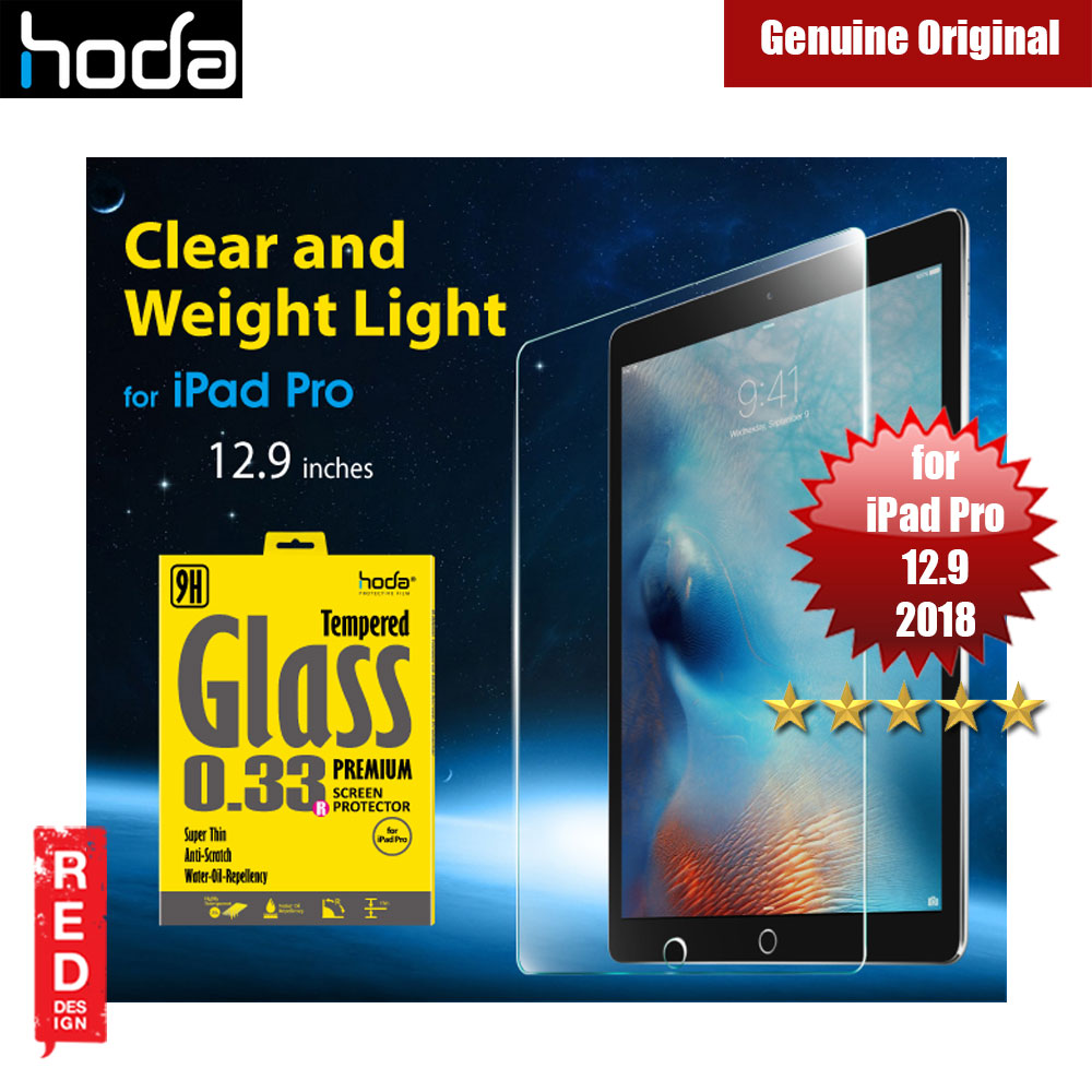 Picture of Hoda 0.33mm Tempered Glass Premium Screen Protector for Apple iPad Pro 12.9 2018 Apple iPad Pro 12.9 2018- Apple iPad Pro 12.9 2018 Cases, Apple iPad Pro 12.9 2018 Covers, iPad Cases and a wide selection of Apple iPad Pro 12.9 2018 Accessories in Malaysia, Sabah, Sarawak and Singapore