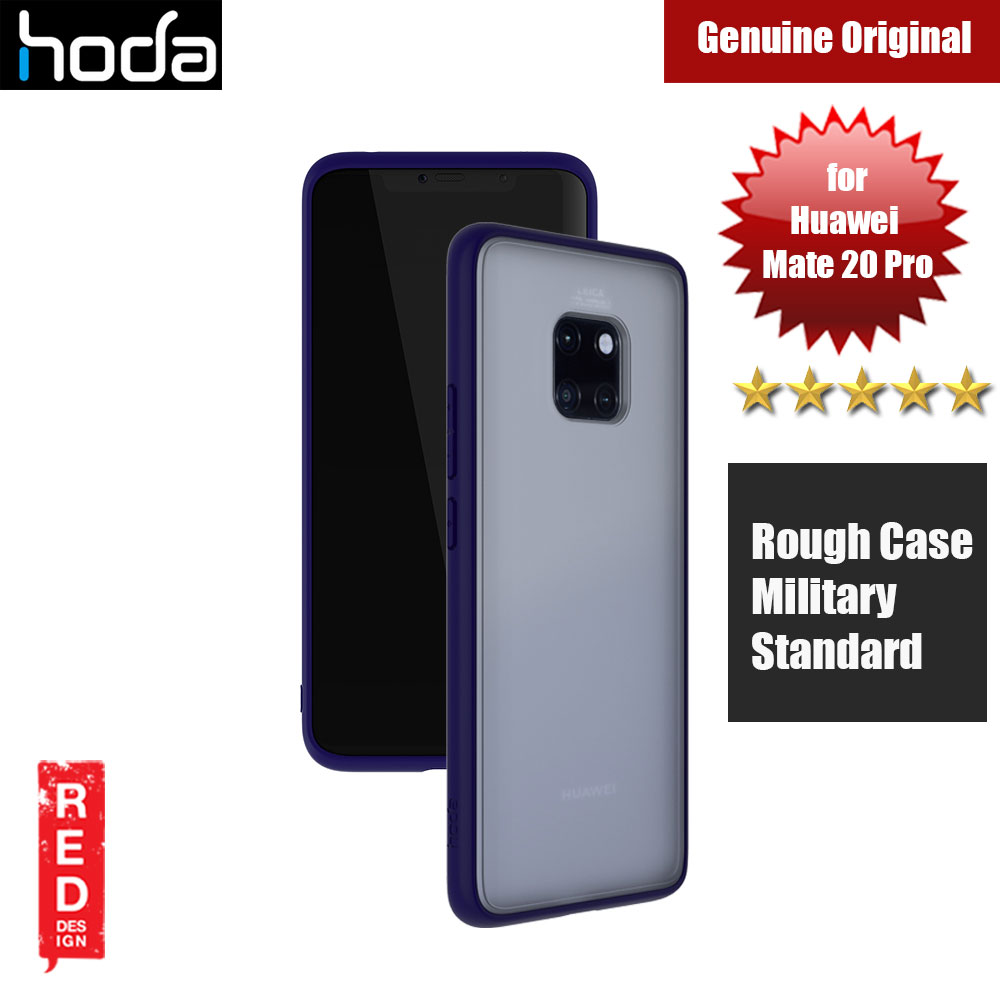 Picture of Hoda Military Standard Rough Case for Huawei Mate 20 Pro (Blue) Huawei Mate 20 Pro- Huawei Mate 20 Pro Cases, Huawei Mate 20 Pro Covers, iPad Cases and a wide selection of Huawei Mate 20 Pro Accessories in Malaysia, Sabah, Sarawak and Singapore