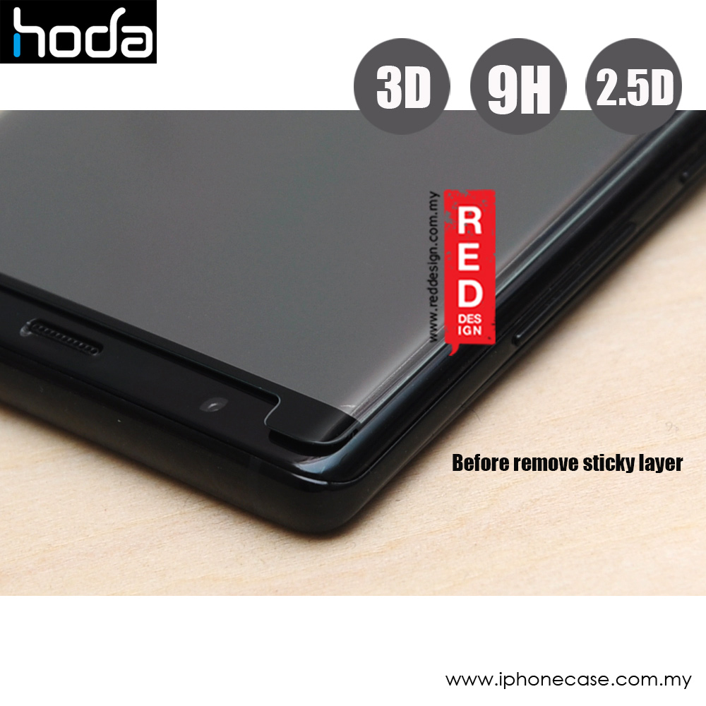 Picture of Samsung Galaxy Note 8  | Hoda 3D Curve Edge Screen Tempered Glass for Samsung Galaxy Note 8 Curve 0.15 mm (Black)