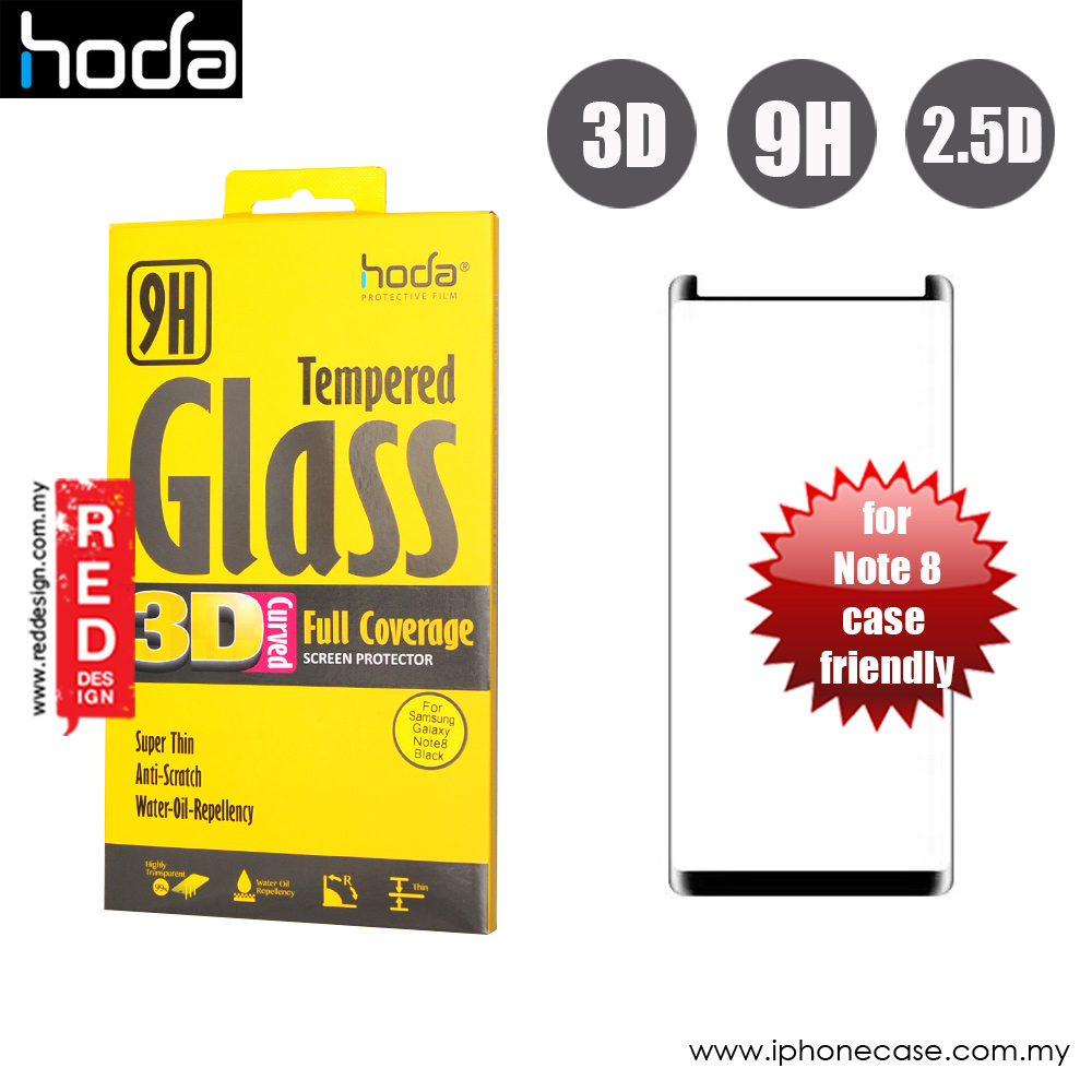 Picture of Hoda 3D Curve Edge Screen Tempered Glass for Samsung Galaxy Note 8 Curve 0.15 mm (Black) Samsung Galaxy Note 8- Samsung Galaxy Note 8 Cases, Samsung Galaxy Note 8 Covers, iPad Cases and a wide selection of Samsung Galaxy Note 8 Accessories in Malaysia, Sabah, Sarawak and Singapore