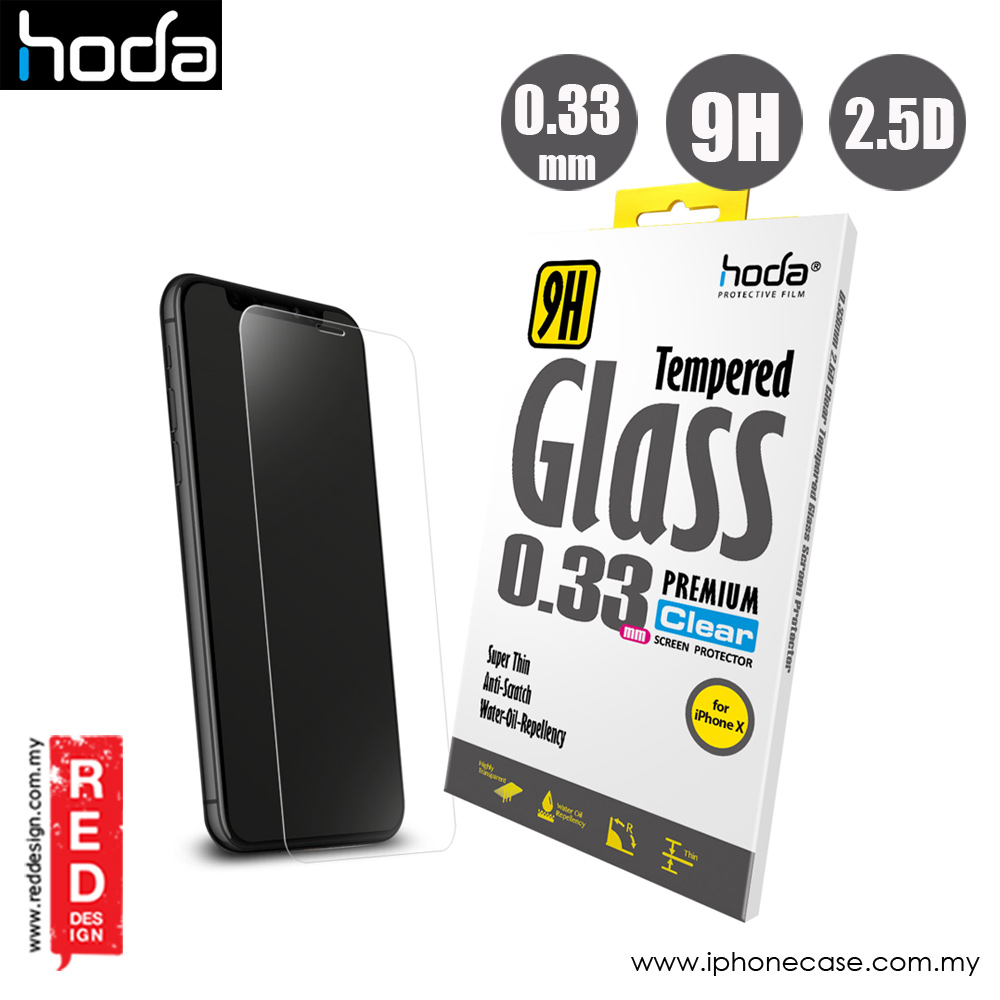 Picture of Hoda Premium Clear 9H Tempered Glass for Apple iPhone X Xs (0.33 mm Clear) Apple iPhone XS- Apple iPhone XS Cases, Apple iPhone XS Covers, iPad Cases and a wide selection of Apple iPhone XS Accessories in Malaysia, Sabah, Sarawak and Singapore