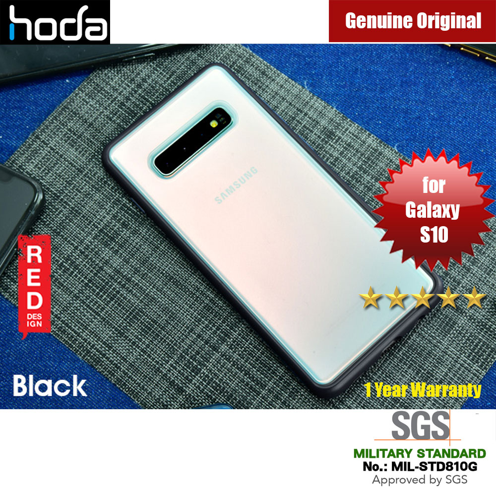 Picture of Hoda Military Standard Rough Case for Samsung Galaxy S10 (Black) Samsung Galaxy S10- Samsung Galaxy S10 Cases, Samsung Galaxy S10 Covers, iPad Cases and a wide selection of Samsung Galaxy S10 Accessories in Malaysia, Sabah, Sarawak and Singapore