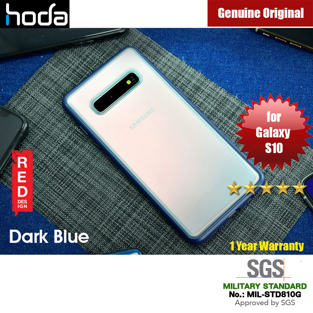 Picture of Hoda Military Standard Rough Case for Samsung Galaxy S10 (Dark Blue) Samsung Galaxy S10- Samsung Galaxy S10 Cases, Samsung Galaxy S10 Covers, iPad Cases and a wide selection of Samsung Galaxy S10 Accessories in Malaysia, Sabah, Sarawak and Singapore