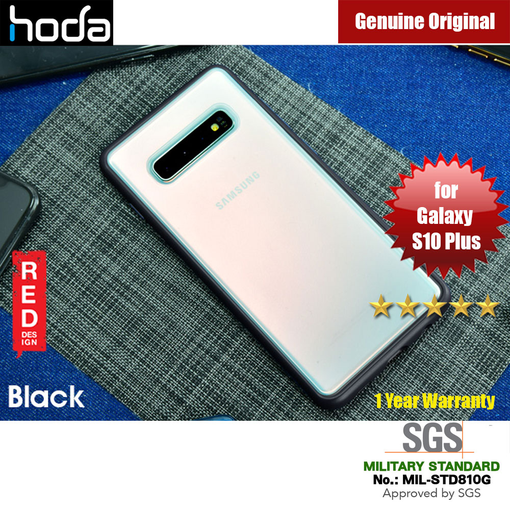 Picture of Hoda Military Standard Rough Case for Samsung Galaxy S10 Plus (Black) Samsung Galaxy S10 Plus- Samsung Galaxy S10 Plus Cases, Samsung Galaxy S10 Plus Covers, iPad Cases and a wide selection of Samsung Galaxy S10 Plus Accessories in Malaysia, Sabah, Sarawak and Singapore