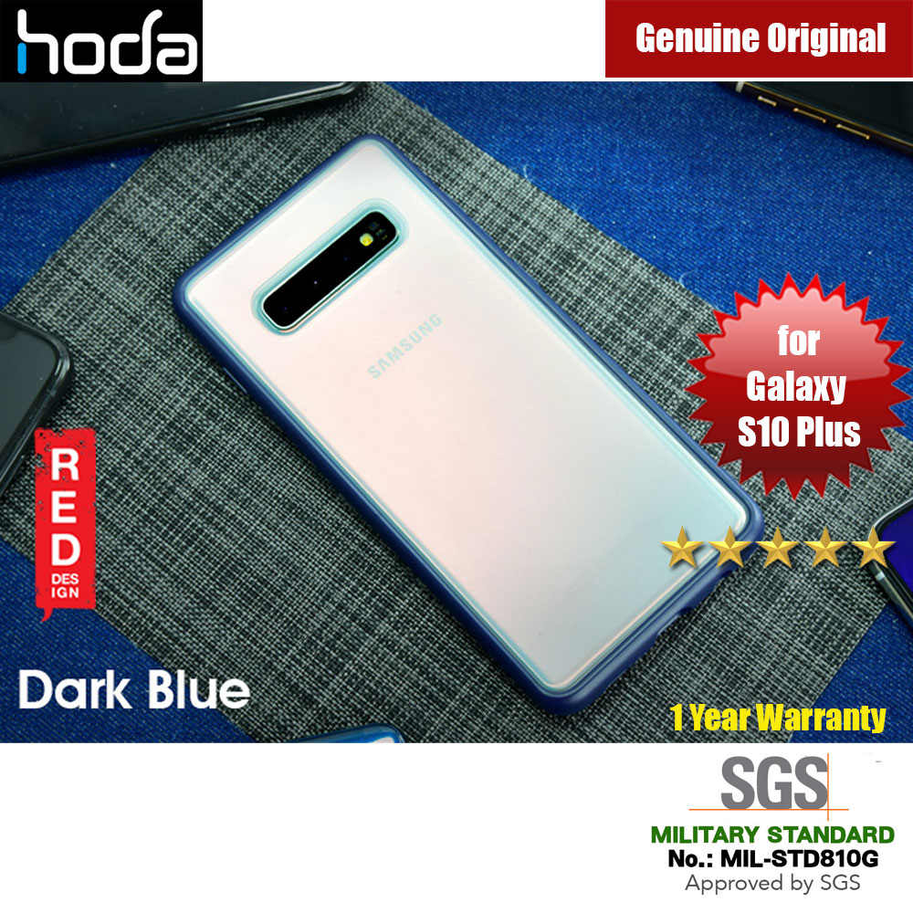 Picture of Hoda Military Standard Rough Case for Samsung Galaxy S10 Plus (Dark Blue) Samsung Galaxy S10 Plus- Samsung Galaxy S10 Plus Cases, Samsung Galaxy S10 Plus Covers, iPad Cases and a wide selection of Samsung Galaxy S10 Plus Accessories in Malaysia, Sabah, Sarawak and Singapore