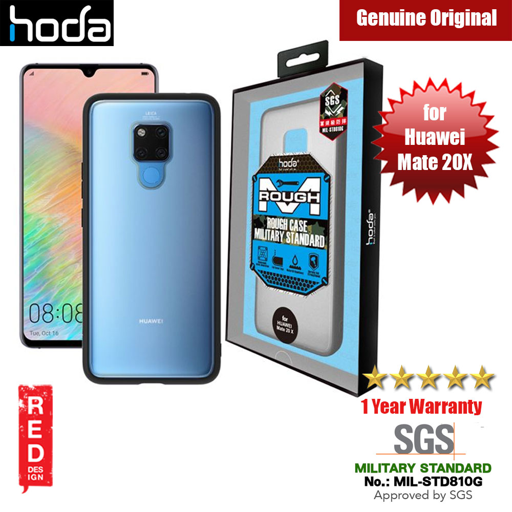 Picture of Hoda Military Standard Rough Case for Huawei Mate 20X 20 X (Black) Huawei Mate 20X- Huawei Mate 20X Cases, Huawei Mate 20X Covers, iPad Cases and a wide selection of Huawei Mate 20X Accessories in Malaysia, Sabah, Sarawak and Singapore
