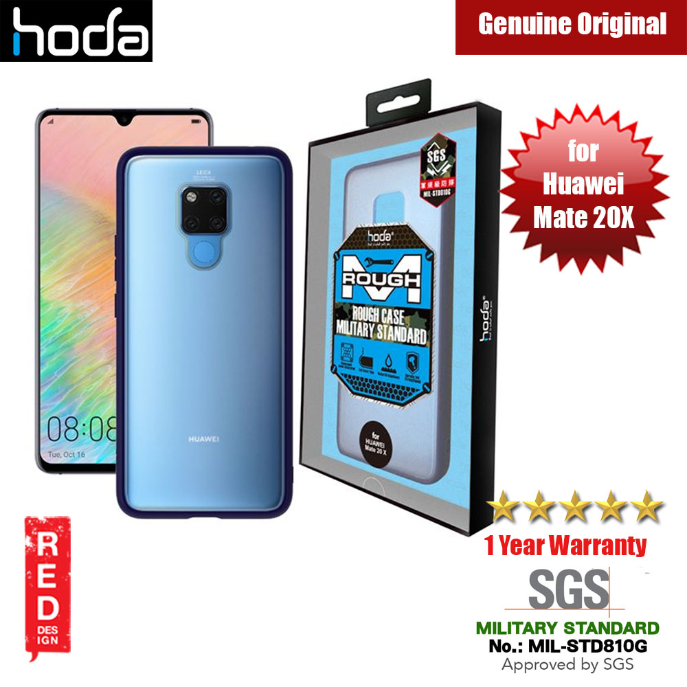 Picture of Hoda Military Standard Rough Case for Huawei Mate 20X 20 X (Dark Blue) Huawei Mate 20X- Huawei Mate 20X Cases, Huawei Mate 20X Covers, iPad Cases and a wide selection of Huawei Mate 20X Accessories in Malaysia, Sabah, Sarawak and Singapore