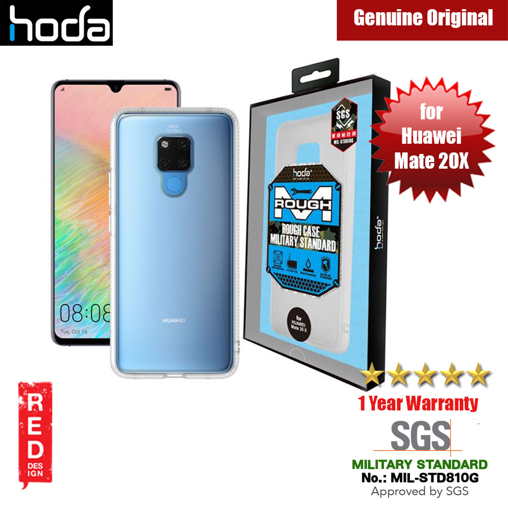Picture of Hoda Military Standard Rough Case for Huawei Mate 20X 20 X (Matte) Huawei Mate 20X- Huawei Mate 20X Cases, Huawei Mate 20X Covers, iPad Cases and a wide selection of Huawei Mate 20X Accessories in Malaysia, Sabah, Sarawak and Singapore