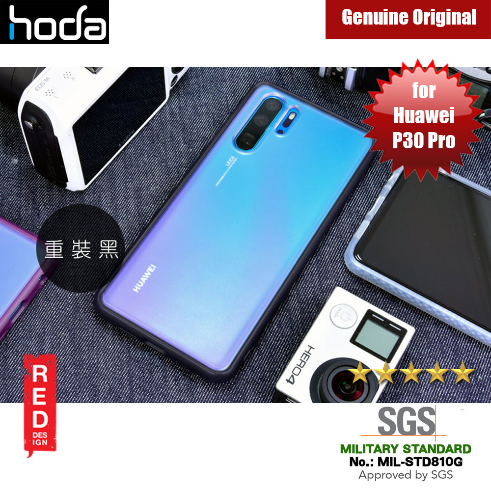 Picture of Hoda Military Standard Rough Case for Huawei P30 Pro (Black) Huawei P30 Pro- Huawei P30 Pro Cases, Huawei P30 Pro Covers, iPad Cases and a wide selection of Huawei P30 Pro Accessories in Malaysia, Sabah, Sarawak and Singapore