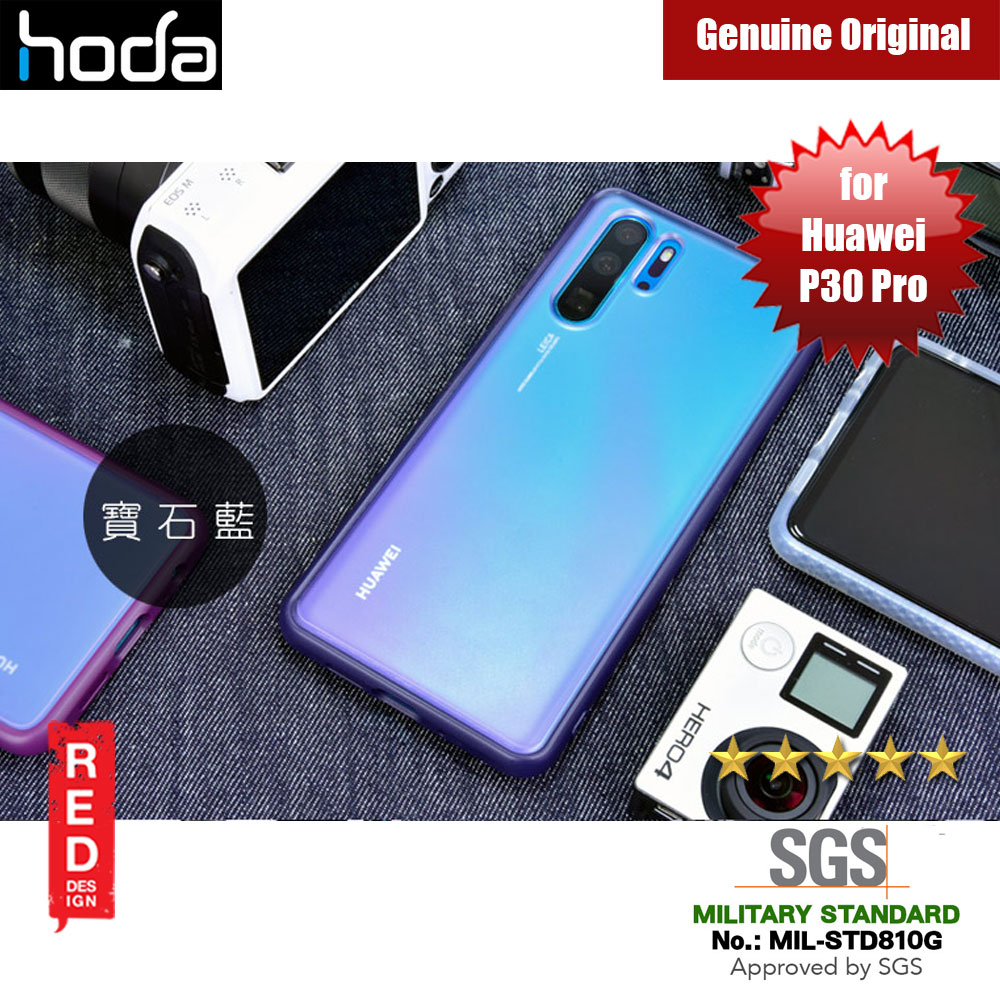 Picture of Hoda Military Standard Rough Case for Huawei P30 Pro (Blue) Huawei P30 Pro- Huawei P30 Pro Cases, Huawei P30 Pro Covers, iPad Cases and a wide selection of Huawei P30 Pro Accessories in Malaysia, Sabah, Sarawak and Singapore