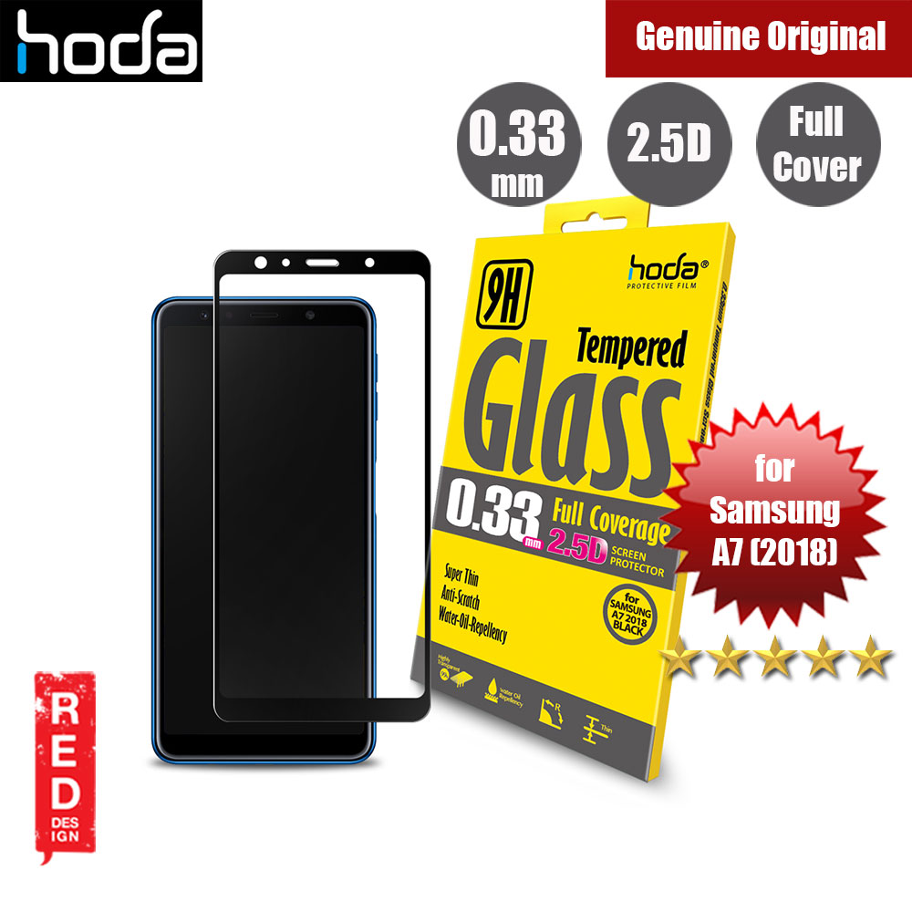 Picture of Hoda 0.33mm Full Coverage Tempered Glass Screen Protector for Samsung Galaxy A7 2018 (Black) Samsung Galaxy A7 2018- Samsung Galaxy A7 2018 Cases, Samsung Galaxy A7 2018 Covers, iPad Cases and a wide selection of Samsung Galaxy A7 2018 Accessories in Malaysia, Sabah, Sarawak and Singapore