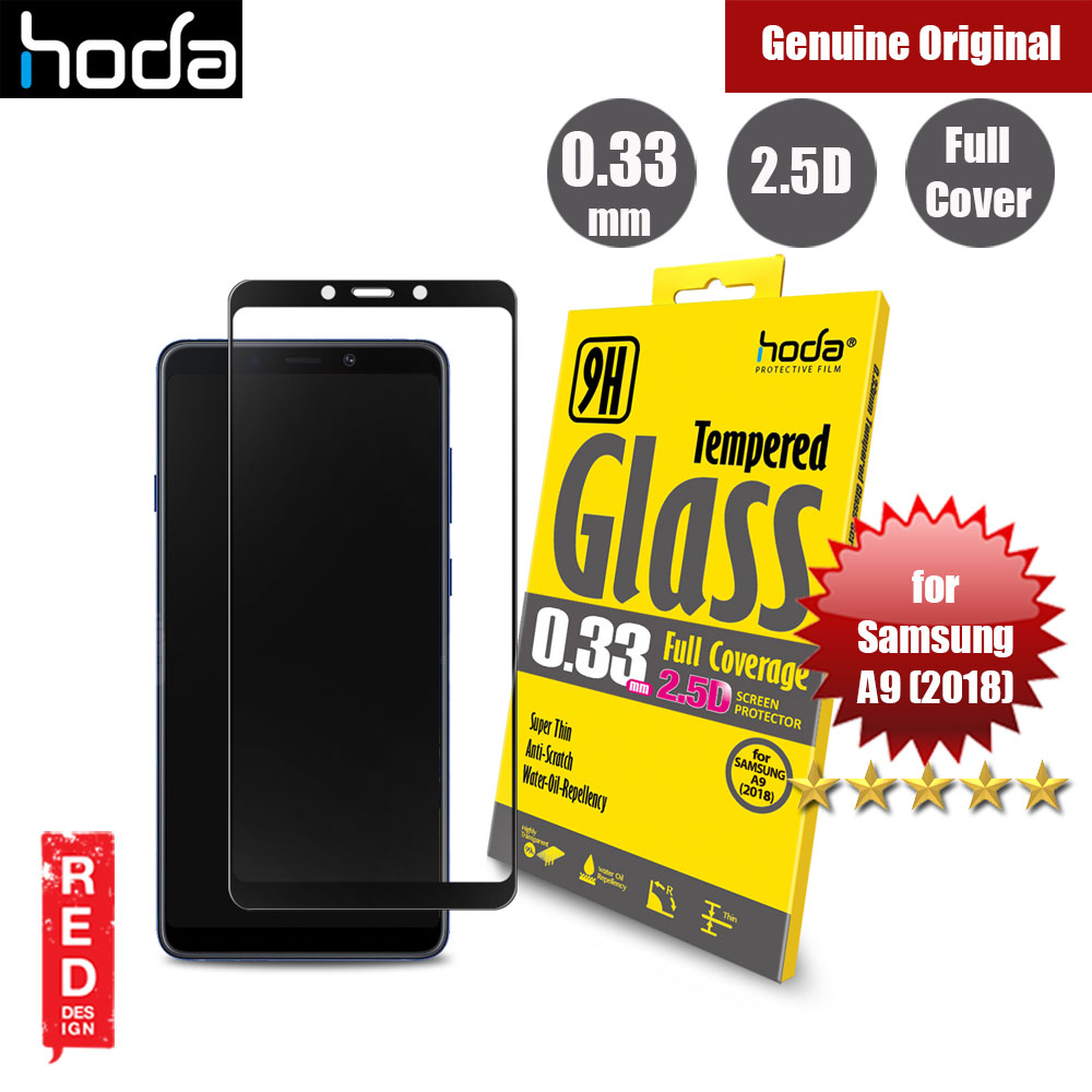 Picture of Hoda 0.33mm Full Coverage Tempered Glass Screen Protector for Samsung Galaxy A9 2018 (Black) Samsung Galaxy A9 2018- Samsung Galaxy A9 2018 Cases, Samsung Galaxy A9 2018 Covers, iPad Cases and a wide selection of Samsung Galaxy A9 2018 Accessories in Malaysia, Sabah, Sarawak and Singapore