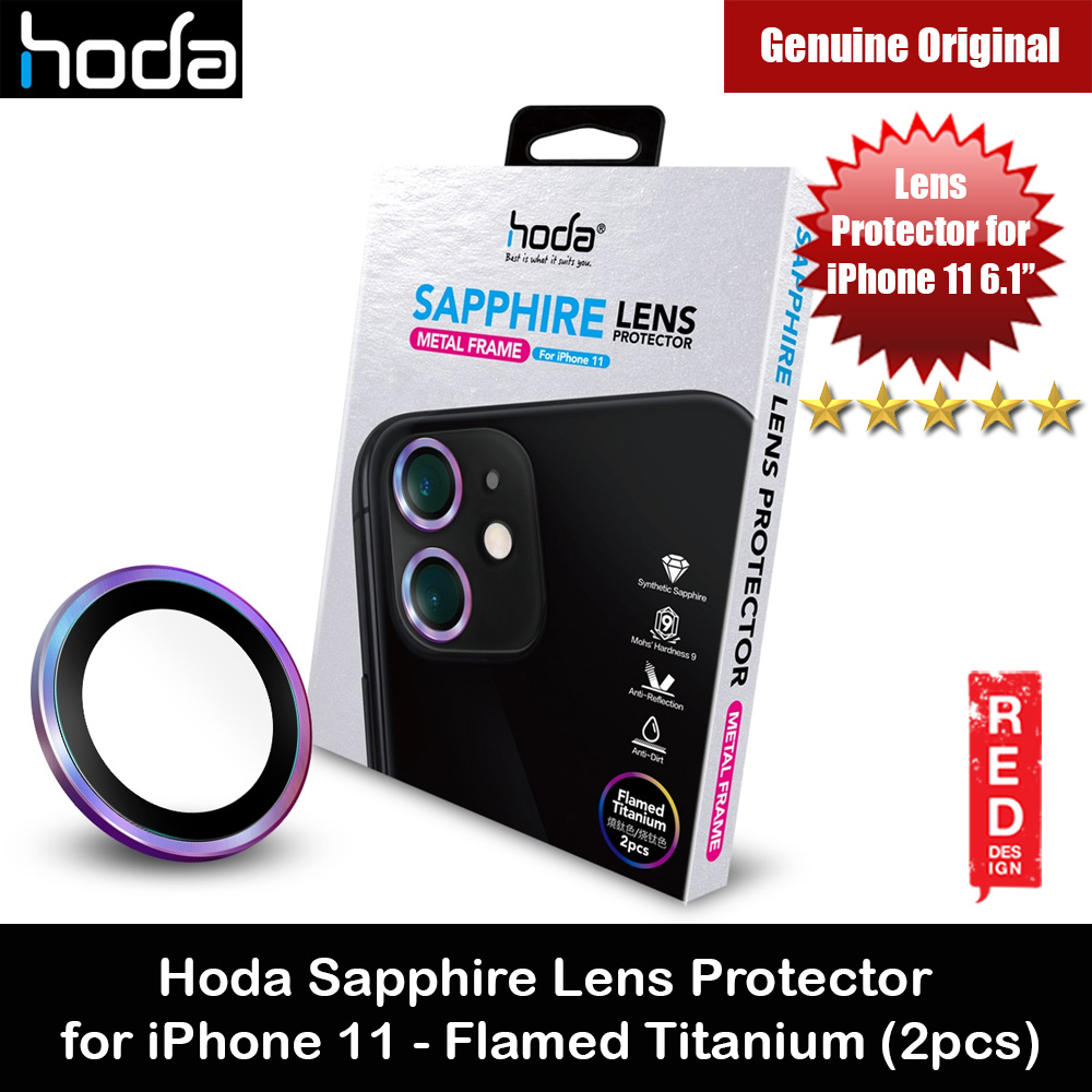 Picture of Hoda Sapphire Lens Protector for iPhone 11 6.1 (Flamed Titanium) Apple iPhone 11 6.1- Apple iPhone 11 6.1 Cases, Apple iPhone 11 6.1 Covers, iPad Cases and a wide selection of Apple iPhone 11 6.1 Accessories in Malaysia, Sabah, Sarawak and Singapore