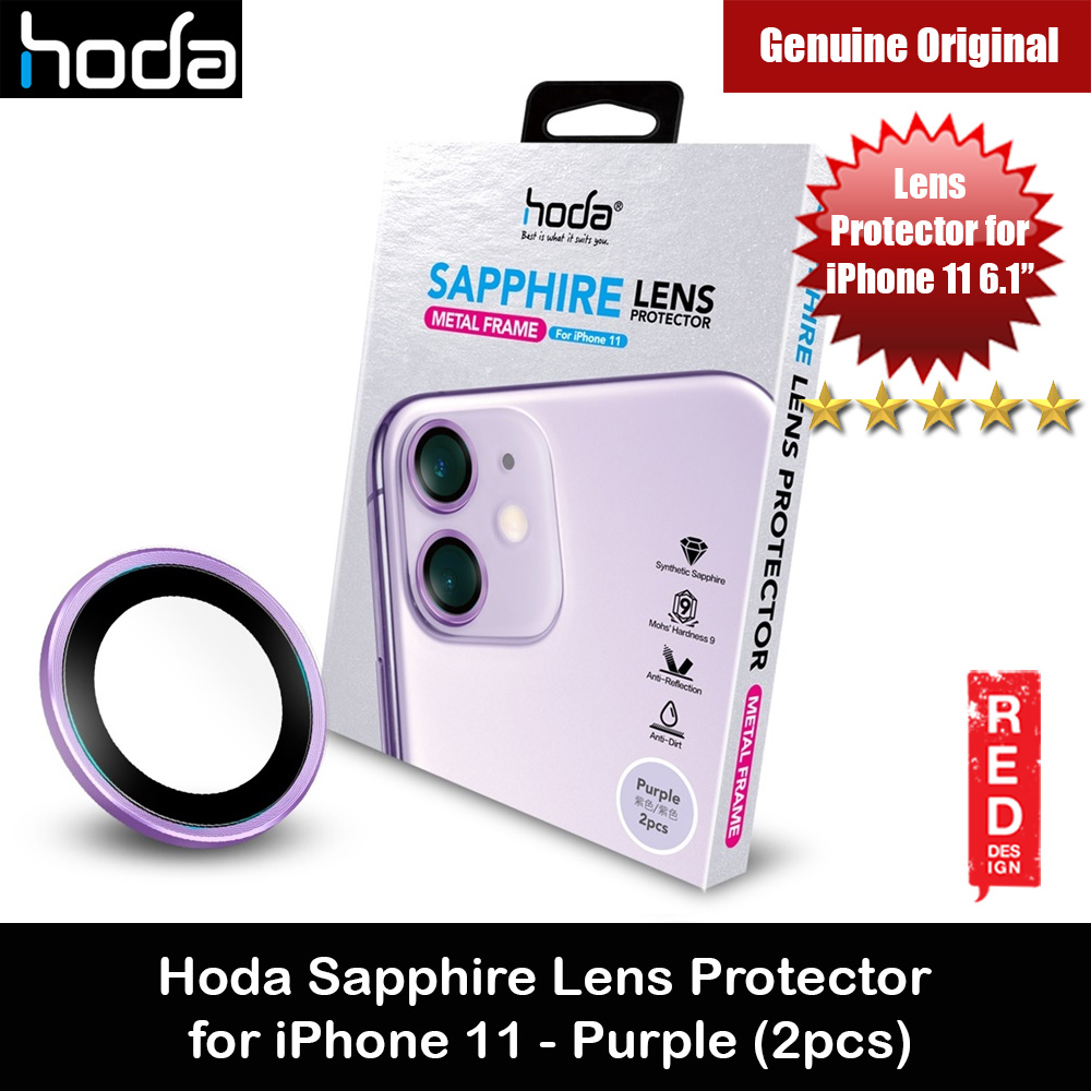 Picture of Hoda Sapphire Lens Protector for iPhone 11 6.1 (Purple) Apple iPhone 11 6.1- Apple iPhone 11 6.1 Cases, Apple iPhone 11 6.1 Covers, iPad Cases and a wide selection of Apple iPhone 11 6.1 Accessories in Malaysia, Sabah, Sarawak and Singapore
