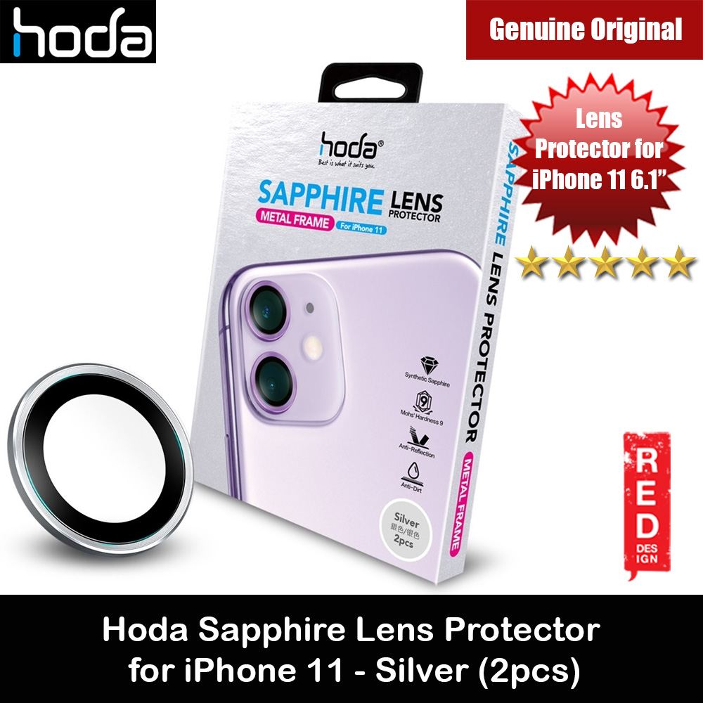 Picture of Hoda Sapphire Lens Protector for iPhone 11 6.1 (Silver) Apple iPhone 11 6.1- Apple iPhone 11 6.1 Cases, Apple iPhone 11 6.1 Covers, iPad Cases and a wide selection of Apple iPhone 11 6.1 Accessories in Malaysia, Sabah, Sarawak and Singapore