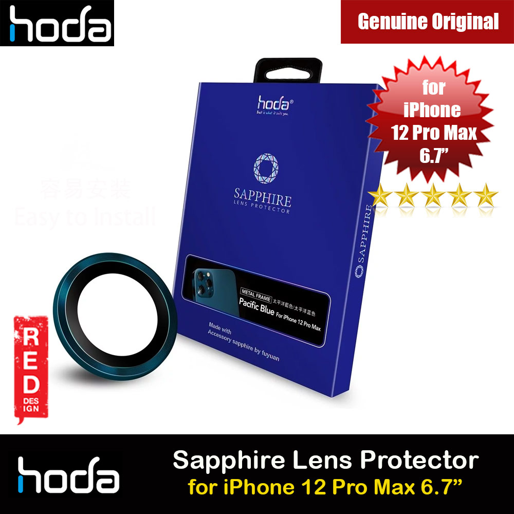 Picture of Hoda Sapphire Lens Protector for Apple iPhone 12 Pro Max 6.7 (Pacific Blue) Apple iPhone 12 Pro Max 6.7- Apple iPhone 12 Pro Max 6.7 Cases, Apple iPhone 12 Pro Max 6.7 Covers, iPad Cases and a wide selection of Apple iPhone 12 Pro Max 6.7 Accessories in Malaysia, Sabah, Sarawak and Singapore