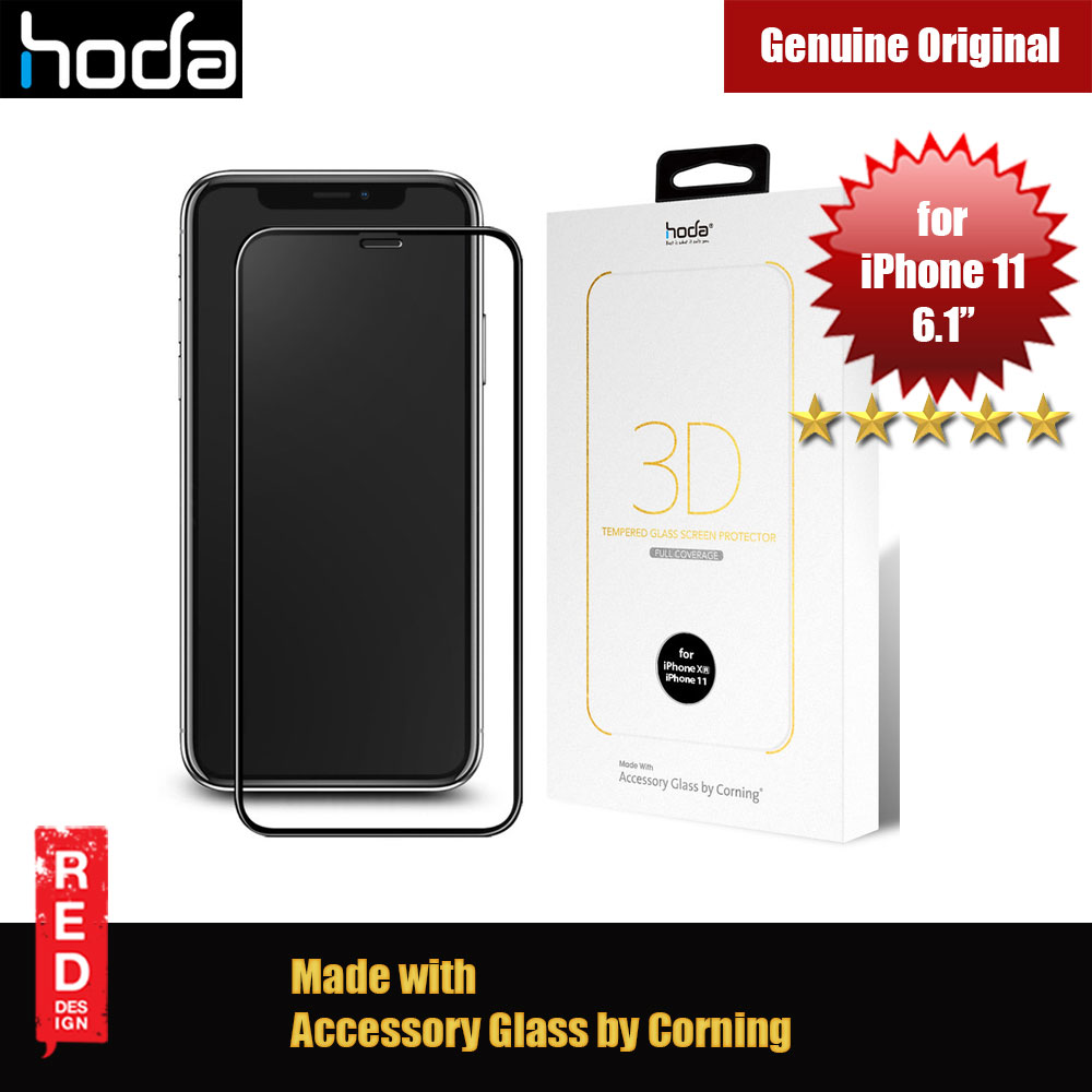 Picture of Hoda 3D 0.33mm Full Coverage Corning 3D Tempered Glass Screen Protector for Apple iPhone XR iPhone 11 6.1 (Corning 3D) Apple iPhone XR- Apple iPhone XR Cases, Apple iPhone XR Covers, iPad Cases and a wide selection of Apple iPhone XR Accessories in Malaysia, Sabah, Sarawak and Singapore