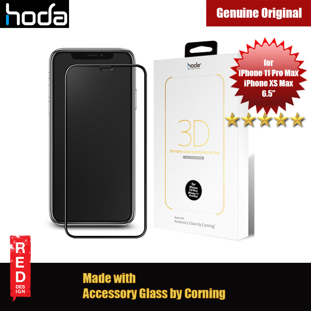 Picture of Hoda 3D 0.33mm Full Coverage Corning 3D Tempered Glass Screen Protector for Apple iPhone XS Max iPhone 11 Pro Max 6.5 (Corning 3D) Apple iPhone XS Max- Apple iPhone XS Max Cases, Apple iPhone XS Max Covers, iPad Cases and a wide selection of Apple iPhone XS Max Accessories in Malaysia, Sabah, Sarawak and Singapore