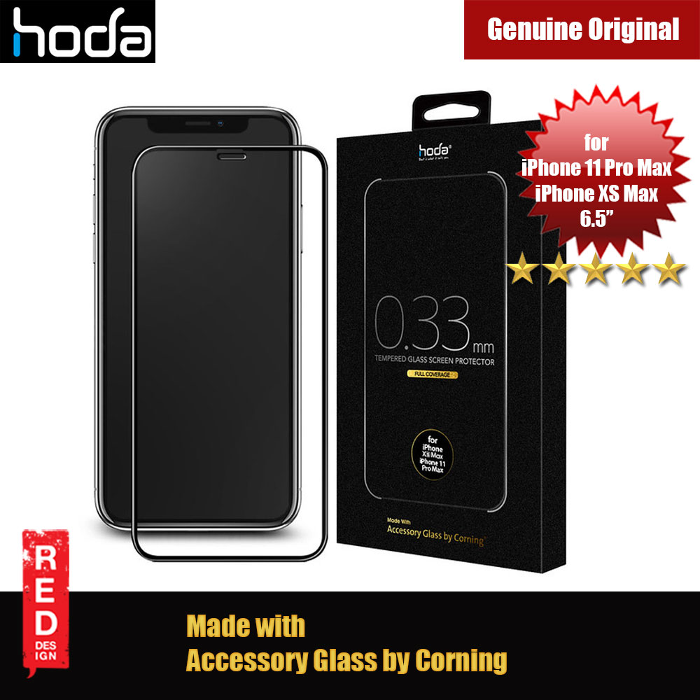 Picture of Hoda 0.33mm Full Coverage Corning Tempered Glass Screen Protector for Apple iPhone XS Max iPhone 11 Pro Max 6.5 (Corning) Apple iPhone XS Max- Apple iPhone XS Max Cases, Apple iPhone XS Max Covers, iPad Cases and a wide selection of Apple iPhone XS Max Accessories in Malaysia, Sabah, Sarawak and Singapore