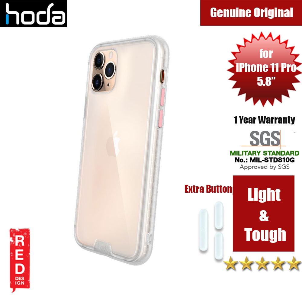 Picture of Hoda Military Standard Rough Case for Apple iPhone 11 Pro (Matte Clear) Apple iPhone 11 Pro 5.8- Apple iPhone 11 Pro 5.8 Cases, Apple iPhone 11 Pro 5.8 Covers, iPad Cases and a wide selection of Apple iPhone 11 Pro 5.8 Accessories in Malaysia, Sabah, Sarawak and Singapore