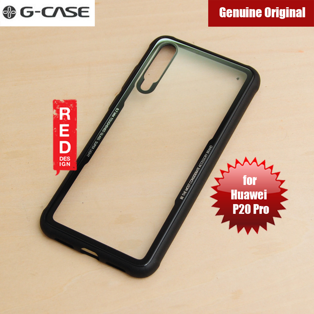 514e2878f958 Picture of Gcase Crystal Series Glass Case for Huawei P20 Pro (Black) iPhone  Cases