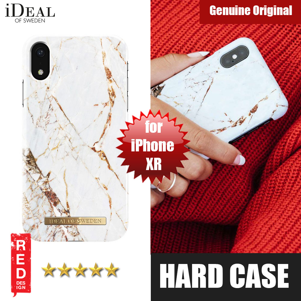 Picture of iDeal of Sweden Fashion Hard Cover Back Case for Apple iPhone XR (Carrara Gold) Apple iPhone XR- Apple iPhone XR Cases, Apple iPhone XR Covers, iPad Cases and a wide selection of Apple iPhone XR Accessories in Malaysia, Sabah, Sarawak and Singapore
