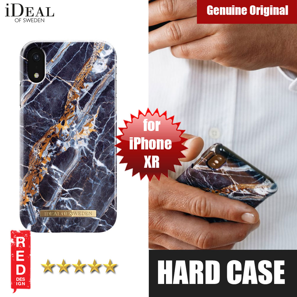 Picture of iDeal of Sweden Fashion Hard Cover Back Case for Apple iPhone XR (Midnight Marble Blue) Apple iPhone XR- Apple iPhone XR Cases, Apple iPhone XR Covers, iPad Cases and a wide selection of Apple iPhone XR Accessories in Malaysia, Sabah, Sarawak and Singapore