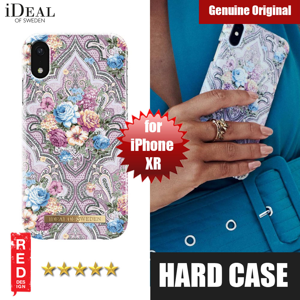 Picture of iDeal of Sweden Fashion Hard Cover Back Case for Apple iPhone XR (Romantic Paisley) Apple iPhone XR- Apple iPhone XR Cases, Apple iPhone XR Covers, iPad Cases and a wide selection of Apple iPhone XR Accessories in Malaysia, Sabah, Sarawak and Singapore