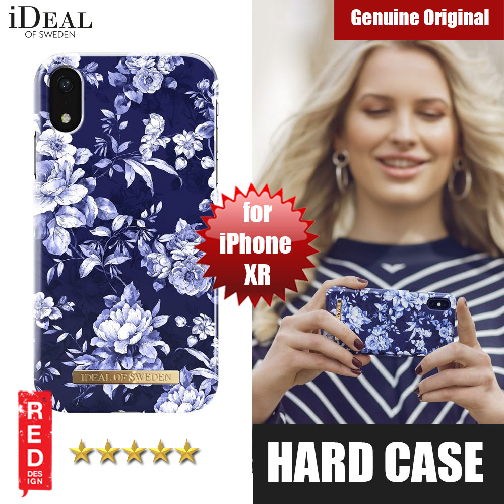 Picture of iDeal of Sweden Fashion Hard Cover Back Case for Apple iPhone XR (Sailor Blue Bloom) Apple iPhone XR- Apple iPhone XR Cases, Apple iPhone XR Covers, iPad Cases and a wide selection of Apple iPhone XR Accessories in Malaysia, Sabah, Sarawak and Singapore