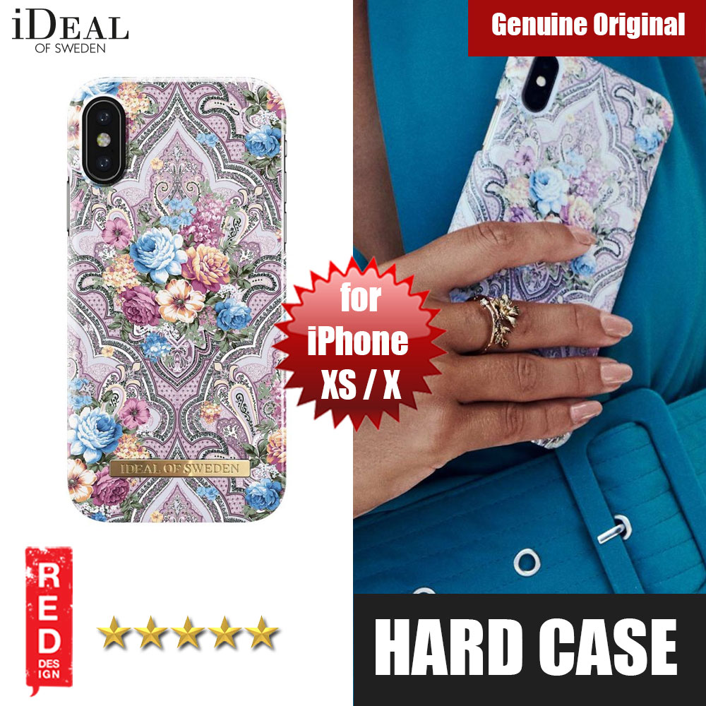 Picture of iDeal of Sweden Fashion Hard Cover Back Case for Apple iPhone XS iPhone X(romance paisley) Apple iPhone X- Apple iPhone X Cases, Apple iPhone X Covers, iPad Cases and a wide selection of Apple iPhone X Accessories in Malaysia, Sabah, Sarawak and Singapore