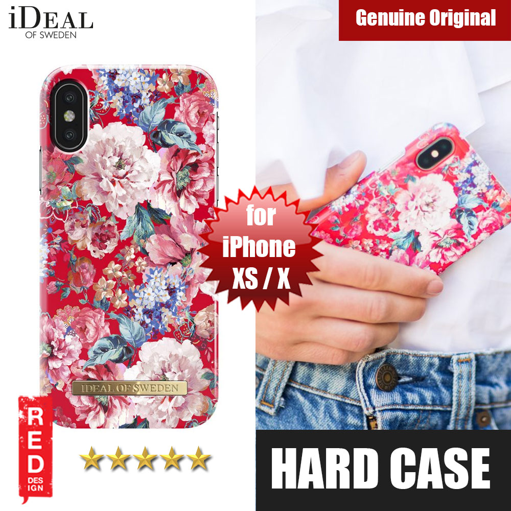 Picture of iDeal of Sweden Fashion Hard Cover Back Case for Apple iPhone XS iPhone X(Statements Florals) Apple iPhone X- Apple iPhone X Cases, Apple iPhone X Covers, iPad Cases and a wide selection of Apple iPhone X Accessories in Malaysia, Sabah, Sarawak and Singapore