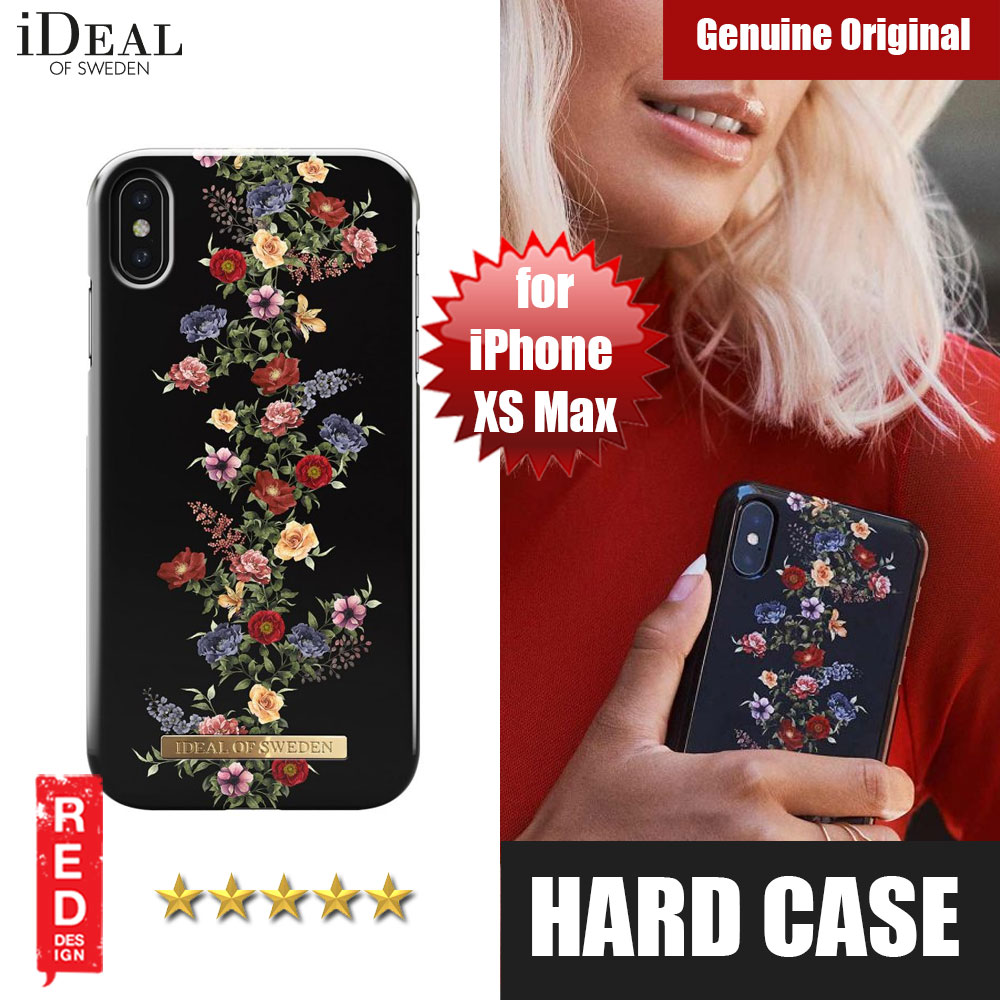 Picture of iDeal of Sweden Fashion Hard Cover Back Case for Apple iPhone XS Max (Dark Floral) Apple iPhone XS Max- Apple iPhone XS Max Cases, Apple iPhone XS Max Covers, iPad Cases and a wide selection of Apple iPhone XS Max Accessories in Malaysia, Sabah, Sarawak and Singapore